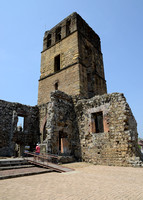Cathedral Tower - Panama Viejo