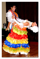 Latin Dancers - performance presented by Caravan Tour